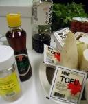 ingredients for daikon salad