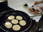 sweet pancakes for the dessert of 'dorayaki'