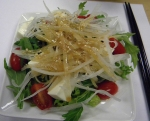 the daikon and tofu salad, yummmm!