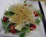 the daikon and tofu salad, yummmm!