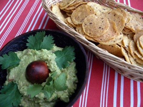 Guacamole & Nacho Chips
