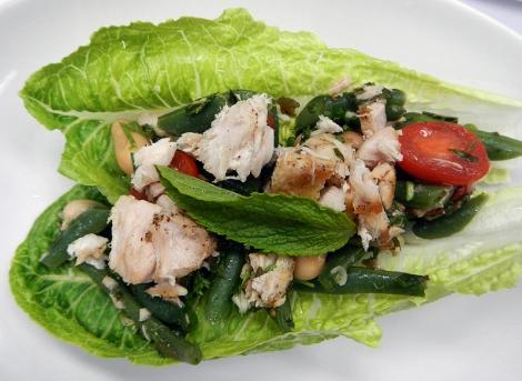 Spanish Tapas - Tuna Salad with Mint