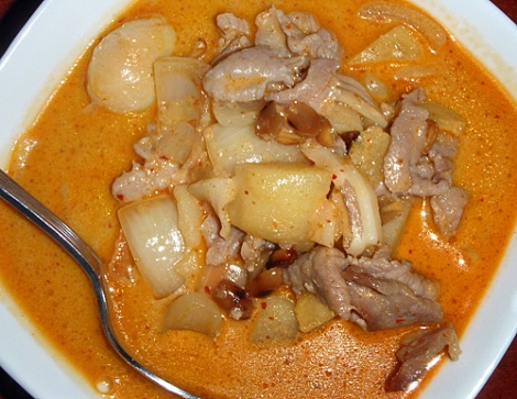 Masaman Curry from Southern Thailand