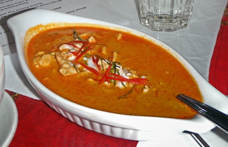 Thai Red Curry from Northern Thailand