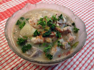Left-over Turkey Chowder