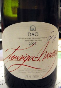 Dao, a red wine from Portugal, shines when served with food