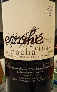 Evoche, una garnacha de viñas viejas