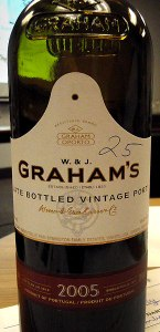 W & J Graham's Vintage Port
