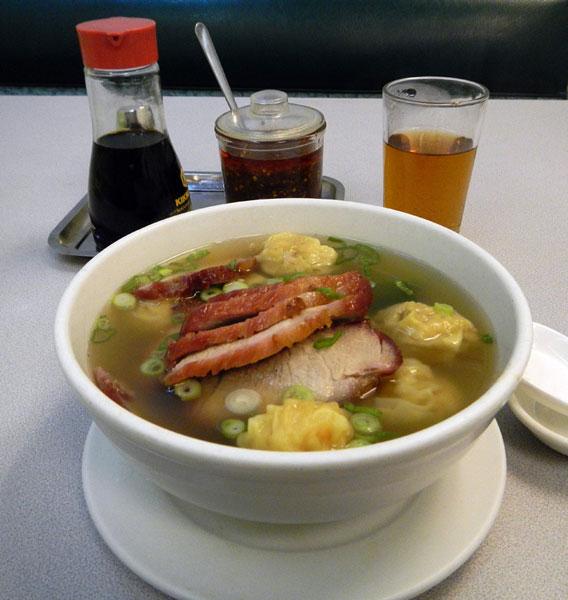 Won Ton & BBQ Pork Soup
