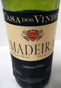 Madeira Wine from an island off Portugal's coast