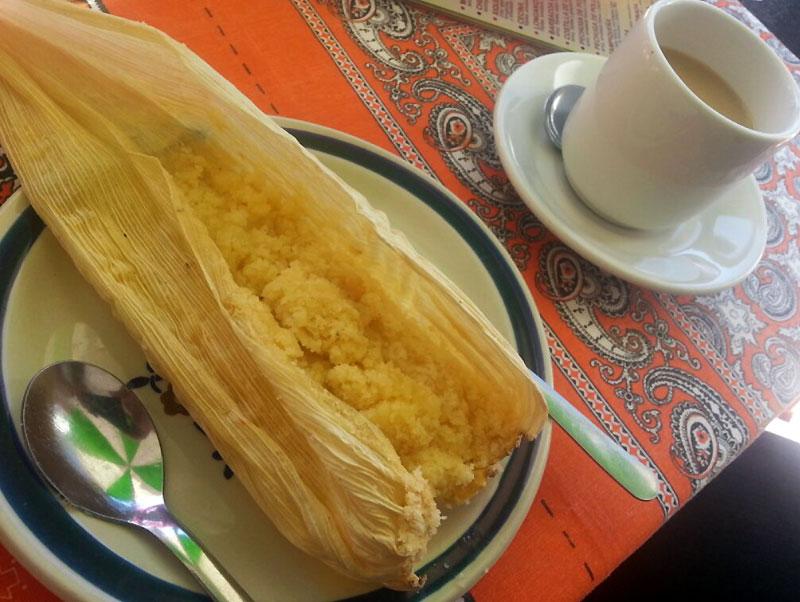 Tamales Carnarios, sweet yellow tamales | Albatz Travel Adventures