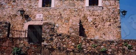 wall in Cuernavaca