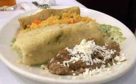 dinner at the Café Tacuba