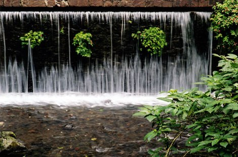 one of many cascades in the Parque Nacional within the city of Uruapan