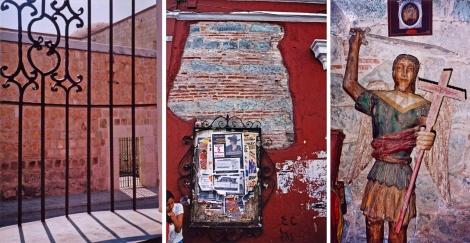 Oaxaca, the museum, the street, the church
