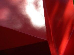 Van Dusen Gardens - Red Sculpture