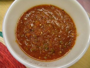 salsa from Puebla