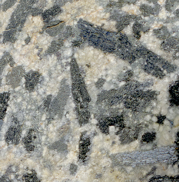 close-up of sparkly Yale River granite
