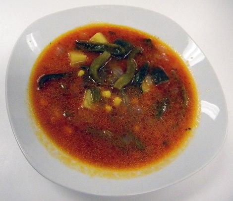 Sopa de Milpa (Garden Soup)