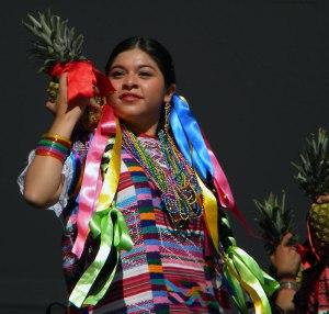 Flor de Piña dance from Oaxaca