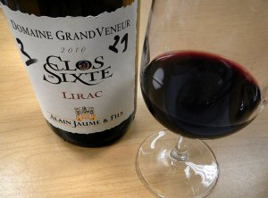 red wine to go with the Pork & Mandarins: Clos Sixte Lirac