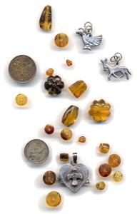 Amber and sterling silver pieces from our journey through Mexico and Guatemala