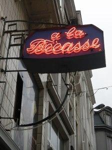 Brussels Pub a la Becasse