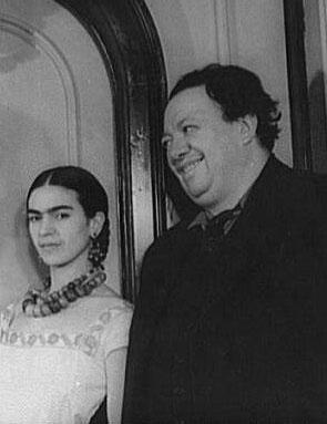Frida Kahlo & Diego Rivera c. 1932
