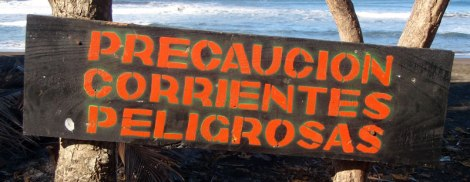 Ostional Beach in Costa Rica: Beware, dangerous currents