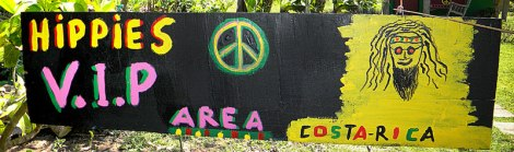 Hippies VIP Area near Volcán Arenal