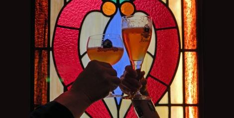 Belgian Beers Augustijn and Arend in Bruges