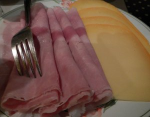 Ham and Bruges Cheese