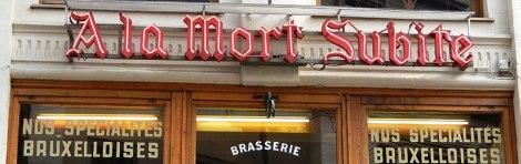 Brussels Mort Subite Bar
