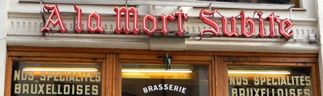 Brussels Mort Subite Bar