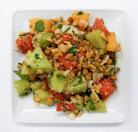Burmese melon salad