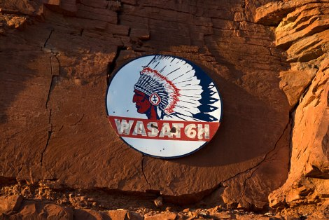 sign at Mexican Hat