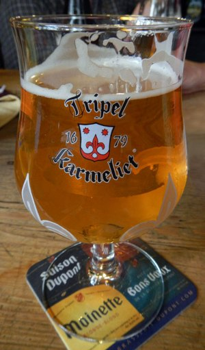 Antwerp Beer: Tripel Karmeliet