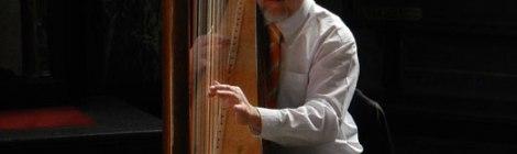 Sint Baaf Kathedraal harpist