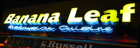 Banana Leaf Restaurant-Malaysian Cuisine Neon