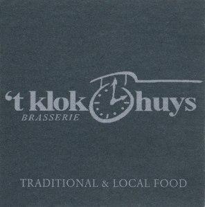 't-klok-huys brasserie in Ghent