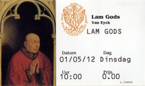Mystic Lamb Ticket