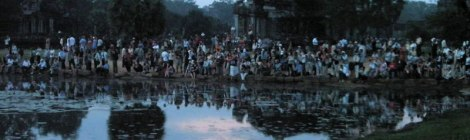 Angkor Wat: the Sunrise Crowd