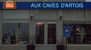 'Aux Caves d'Artois' Café in De Panne