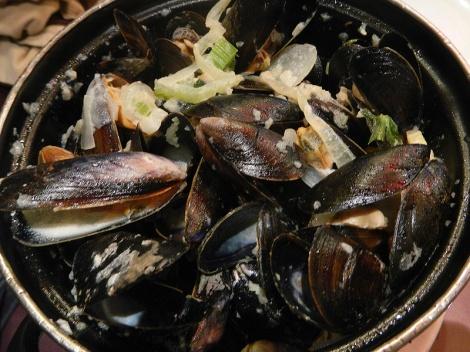 Mussels in DePanne