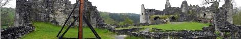 Ruines de Montaigle Panorama