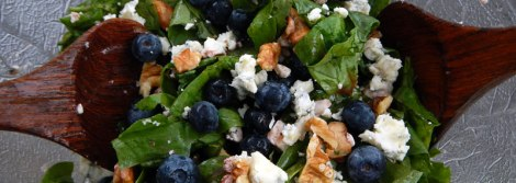 Blueberry & Blue Cheese Salad