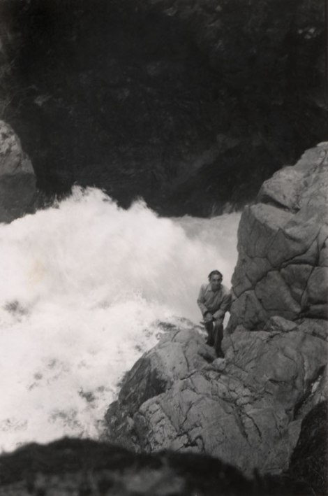 dad at Lynn Canyon c.1952