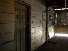 inside Steveston shipyards building