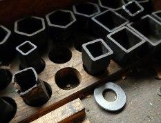 tools inside Steveston shipyards building