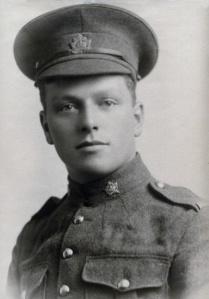 Granddad in 1914, part of the 28th Battalion, Regina Rifles